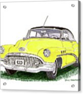 1952 Buick Special Acrylic Print