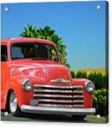 1952 Chevrolet  3100 Pickup I Acrylic Print
