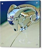 1952 Dodge Coronet  Diplomat Club Coupe Hood Ornament Acrylic Print