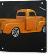 1952 Ford Pickup Custom Acrylic Print