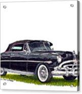 1952 Hudson Hornet Convertible Acrylic Print