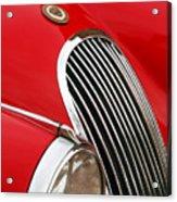 1952 Jaguar Xk 120 Grille Emblem Acrylic Print