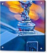 1952 Rolls-royce Silver Wraith Hood Ornament Acrylic Print