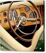 1952 Sterling Gladwin Maverick Sportster Steering Wheel Acrylic Print