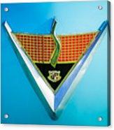 1952 Studebaker Emblem Acrylic Print