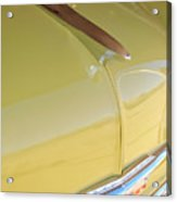 1953 Chevrolet Bel Air Hood Ornament Acrylic Print by Jill Reger