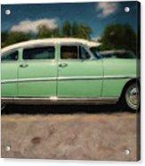 1953 Hudson Hornet Acrylic Print
