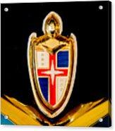 1953 Lincoln Capri Emblem Acrylic Print