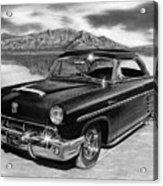 1953 Mercury Monterey On Bonneville Acrylic Print by Peter Piatt