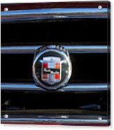 1953 Nash Healey Roadster Hood Ornament Acrylic Print