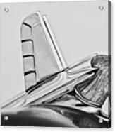 1953 Pontiac Hood Ornament 2 Acrylic Print