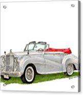 Rolls Royce Silver Dawn 1953 Acrylic Print