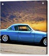 1953 Studebaker 'blue Streak' Commander Acrylic Print