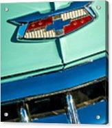 1954 Chevrolet Belair Emblem Acrylic Print