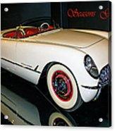 1954 Chevrolet Corvette Convertible Acrylic Print