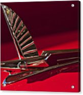 1954 Ford Cresline Sunliner Hood Ornament Acrylic Print