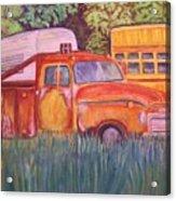 1954 Gmc Wrecker Truck Acrylic Print