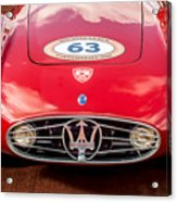 1954 Maserati A6 Gcs Grille -0255c Acrylic Print