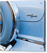 1954 Mercury Monterey Merc O Matic Spare Tire Acrylic Print