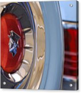 1954 Mercury Monterey Merco Matic Spare Tire Acrylic Print