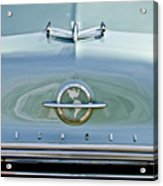 1954 Oldsmobile Super 88 Hood Ornament 3 Acrylic Print