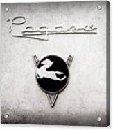1954 Pegaso Z-102 Saoutchik Coupe Emblem -2218ac Acrylic Print