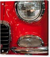 1955 Chevy Bel Air Headlight Acrylic Print by Sebastian Musial
