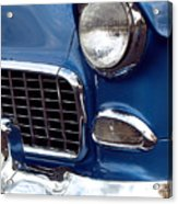 1955 Chevy Front End Acrylic Print