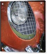 1955 Corvette Headlight Detail Acrylic Print