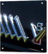 1955 Ford Thunderbird Emblem Acrylic Print