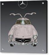 1955 Mercedes Benz Gull Wing 300 S L  Acrylic Print