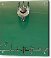 1955 Packard Clipper Hood Ornament 2 Acrylic Print