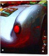 1955 Porsche 550 Rs Spyder . Painterly Style Acrylic Print