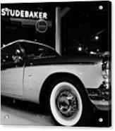 1955 Studebaker President Speedster Acrylic Print