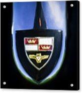 1955 Studebaker President Speedster Emblem -0496c45 Acrylic Print