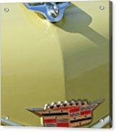1956 Cadillac Sedan Deville Hood Ornament Acrylic Print