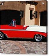 1956 Chevrolet Belair Convertible Acrylic Print