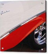 1956 Chevrolet Belair Convertible Wheel Acrylic Print