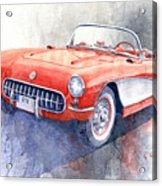 1956 Chevrolet Corvette C1 Acrylic Print