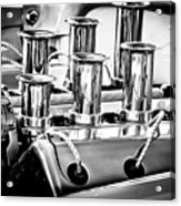 1956 Chrysler Hot Rod Engine Acrylic Print
