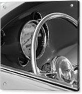 1956 Chrysler Hot Rod Steering Wheel Acrylic Print