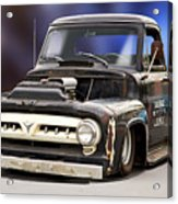 1956 Ford F100 'workingmans' Pickup II Acrylic Print