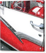 1956 Ford Fairlane Convertible 2 Acrylic Print