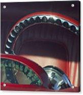 1956 Ford Thunderbird Speedometer - Steering Wheel -0714c Acrylic Print