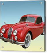 1956 Jaguar Xk 140 Mc Acrylic Print