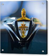 1956 Lincoln Hood Ornament Acrylic Print