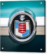 1956 Mercury Monterey Emblem Acrylic Print