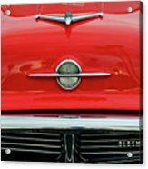 1956 Oldsmobile Hood Ornament 4 Acrylic Print by Jill Reger