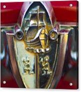 1956 Plymouth Belvedere Emblem 2 Acrylic Print