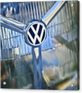 1956 Volkswagen Vw Bug Head Light Acrylic Print